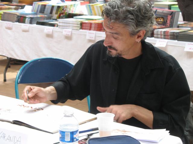 Alberto Varanda en dédicace
