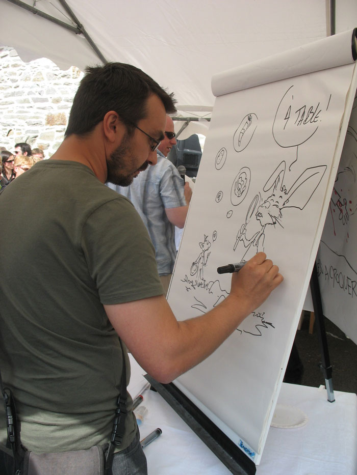 Animation Rock'n Toques, avec François Gomès