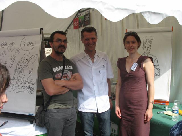 Animation Rock'n Toques, avec François Gomès et Fanny Montgermont