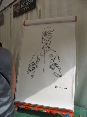 Animation Rock'n Toques, dessin de Fanny Montgermont