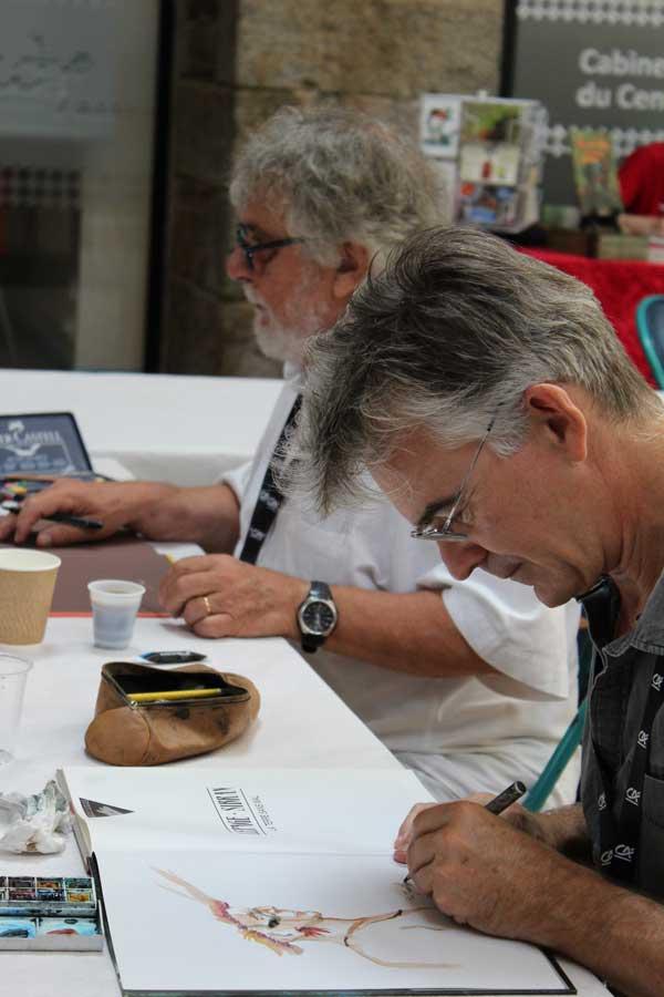 Emmanuel Lepage et Jean-Claude Fournier en dédicace