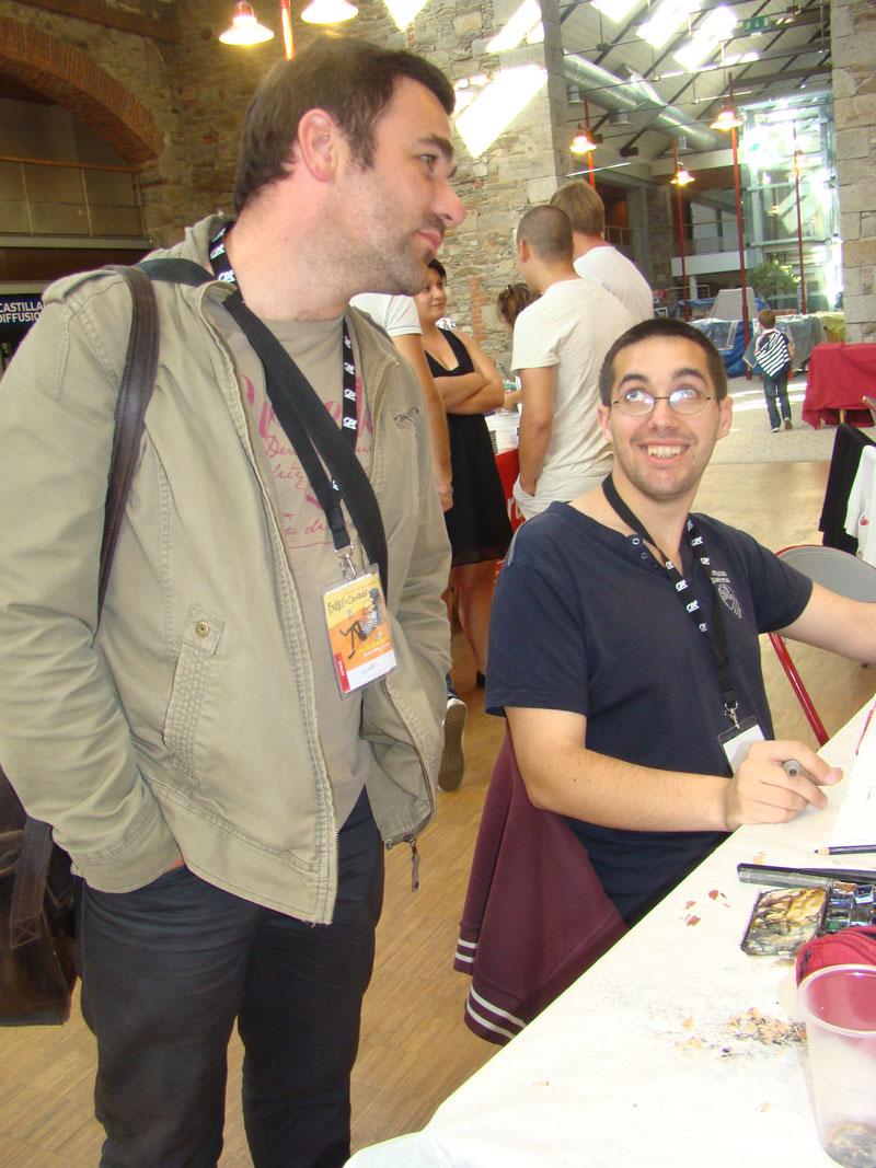 Nicoby et Damien Cuvillier