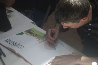 Pascal Jousselin en dédicace