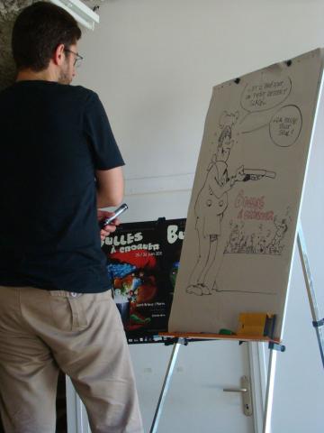 Rock'n Toques, dessin de Laurent Bordier