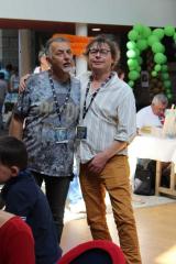 Roger Widenlocher et Christophe Lazé