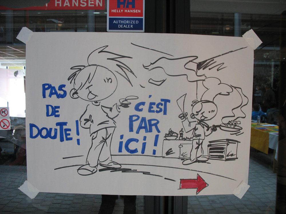 Rock'n Toques, dessin de Lazé