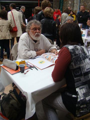 Jean-Claude Fournier en dédicace
