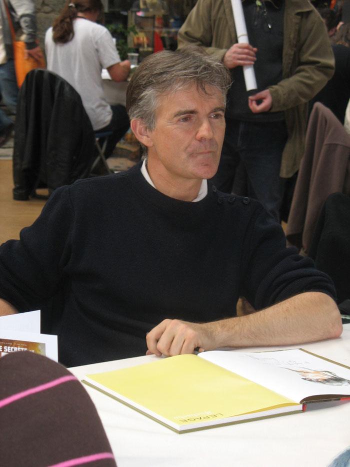 Emmanuel Lepage en dédicace