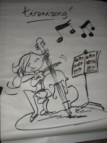 Rock'n Toques, dessin de Christophe Lazé