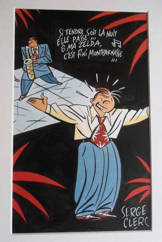 Dessin de Serge Clerc