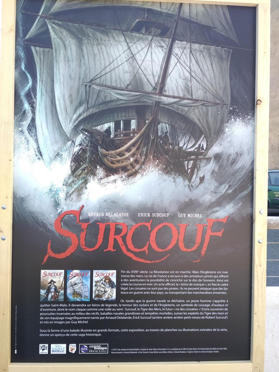 Exposition Surcouf, par Guy Michel