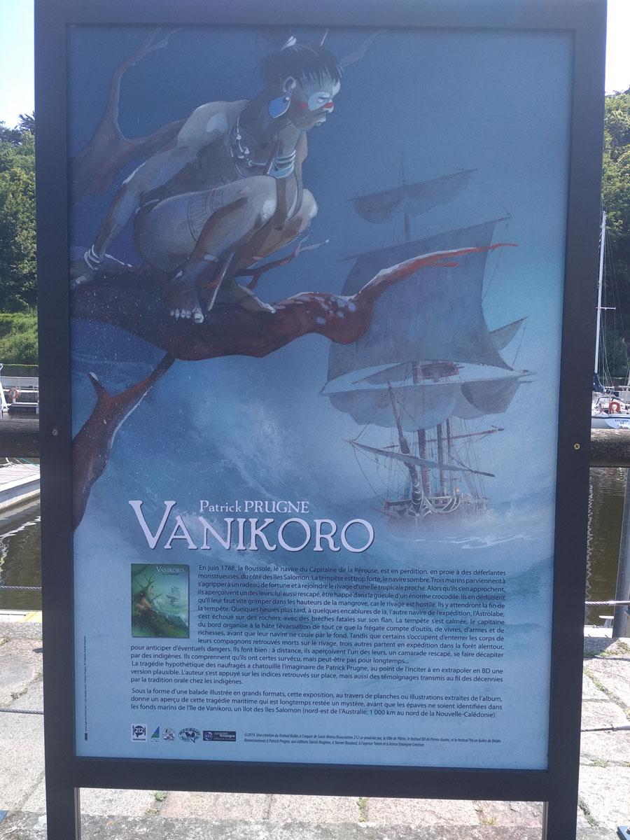 Exposition Vanikoro, par Patrick Prugne