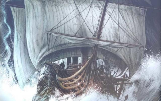 Exposition Vanikoro et Surcouf au port du légué