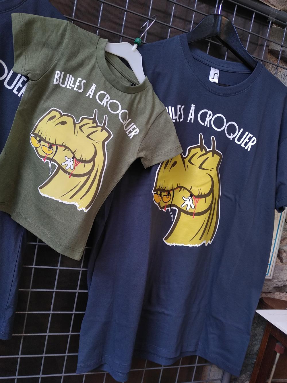Les T-shirts Bulles à Croquer